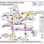 ZET – Zagreb Tram Map