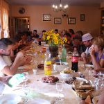 Family harvest lunch with Krolo family