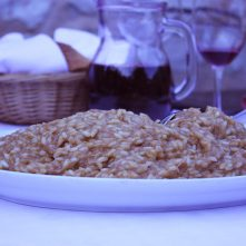 12 hour risotto of Skradin, Croatia