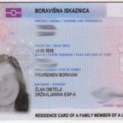 Croatia National ID Card