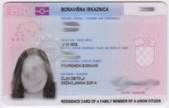 Croatia National ID Card