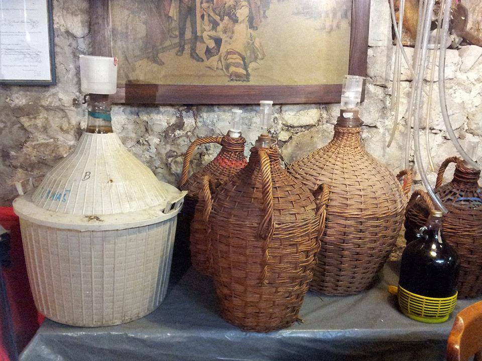 Homemade Croatian rakija