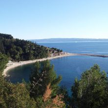 Marjan Forest in Split, Croatia