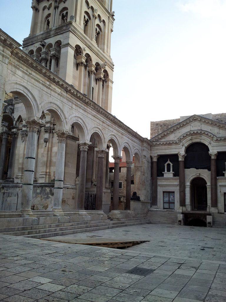 Diocletian's Palace Peristil, Split, Croatia