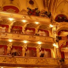 Croatian National Theater in Zagreb