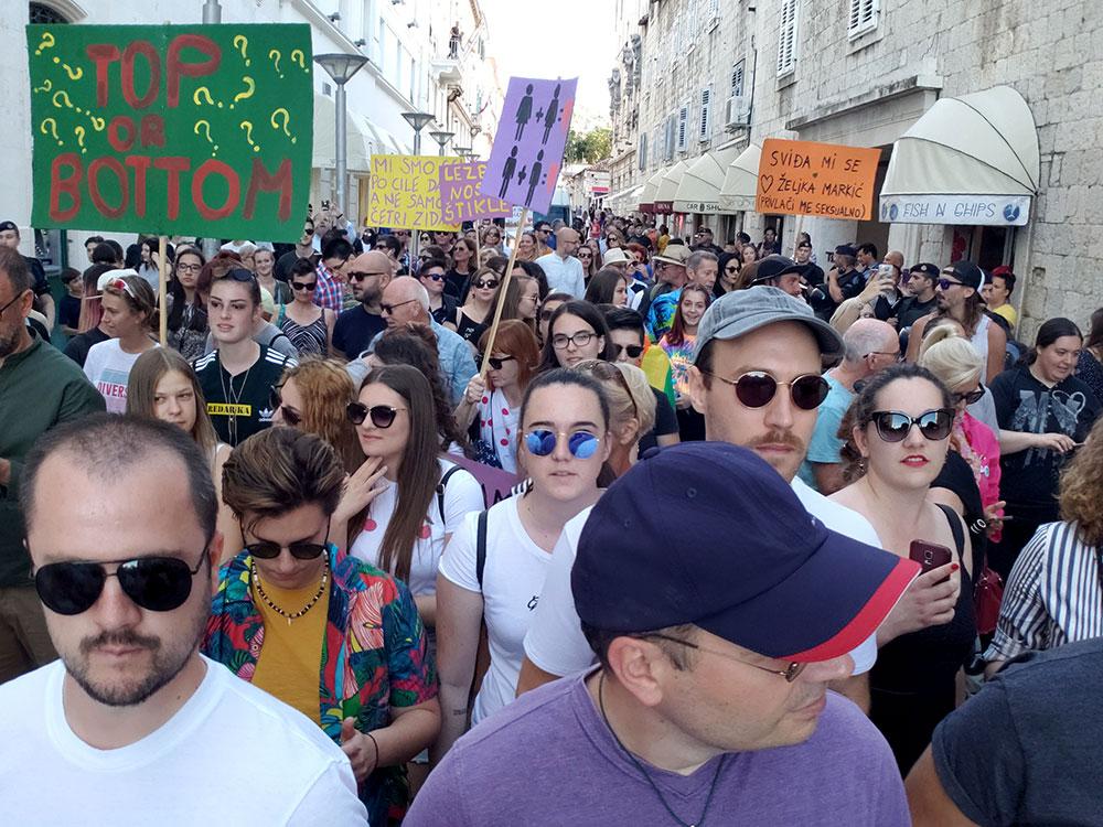 Split Pride Parade 2018