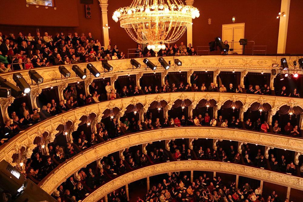Full house at Hrvatsko Naradno Kazaliste Zajc in Rijeka