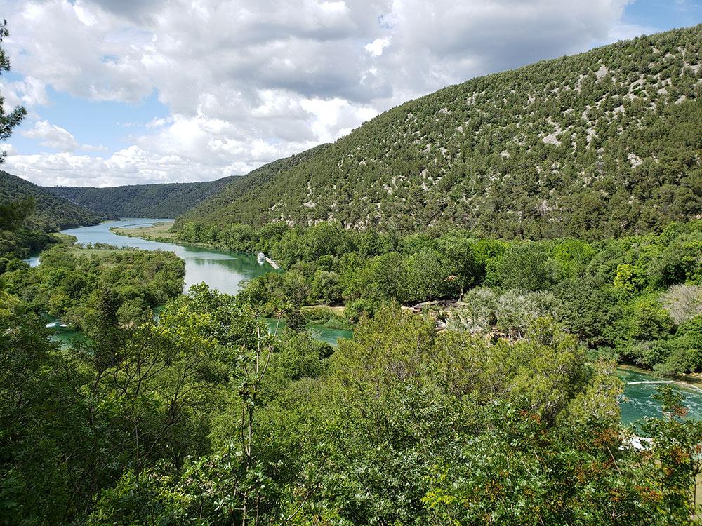 Entrance to Krka National Park